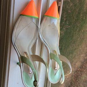 Sling back Sophia Webster heels